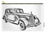 Packard Luxury Antique Car Illustration Carry-all Pouch