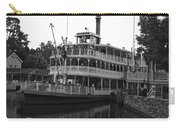 Paddle Boat Black And White Walt Disney World Carry-all Pouch