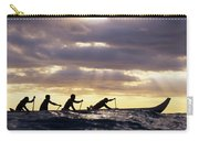 Paddlers Silhouetted Carry-all Pouch