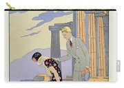 Paestum Carry-all Pouch by Georges Barbier