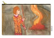Page Of Wands Carry-all Pouch
