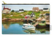 Peggy's Cove Boat Tours Carry-all Pouch