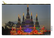 Pagoda Lantern Made With Porcelain Dinnerware At Sunset Carry-all Pouch