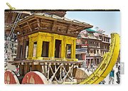 Pagoda-style Carriage In Bhaktapur Durbar Square In Bhaktapur-nepal Carry-all Pouch