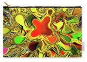 Paint Ball Color Explosion Carry-all Pouch by Andee Design