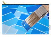 Paint Brush - Blue Carry-all Pouch