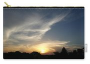 Paint Brush Sunset Carry-all Pouch