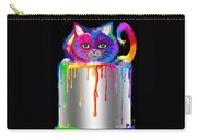 Paint Can Cat Carry-all Pouch