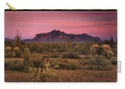 Paint It Pink Sunset  Carry-all Pouch