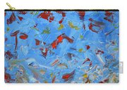 Paint Number 47 Carry-all Pouch by James W Johnson