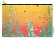 Paint Number Ninteen Diptych Carry-all Pouch