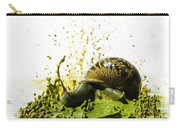 Paint Sculpture And Snail 2 Carry-all Pouch