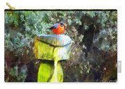 Painted Bullfinch S2 Carry-all Pouch