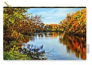 Painted Autumn River Carry-all Pouch