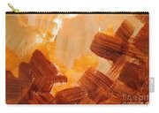 Painted Background Texture Carry-all Pouch