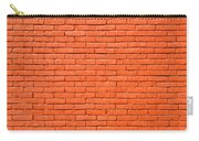 Painted Brick Wall Carry-all Pouch