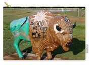 Painted Buffalo Carry-all Pouch