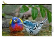 Painted Bunting & Cerulean Warbler Carry-all Pouch