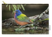 Painted Bunting Drinking Carry-all Pouch
