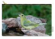Painted Bunting Passerina Ciris Drinking Carry-all Pouch