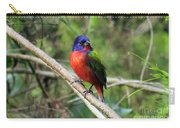Painted Bunting Photo Carry-all Pouch