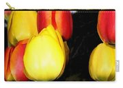 Painted Country Tulips Carry-all Pouch
