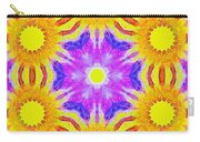 Painted Cymatics 161.66hz Carry-all Pouch