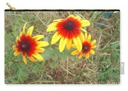 Painted Daisies Carry-all Pouch