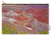 Painted Desert From Rim Trail In Petrified Forest National Park-arizona Carry-all Pouch