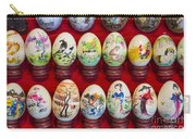 Painted Eggs In China Market Carry-all Pouch