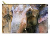 Painted Elephant Carry-all Pouch