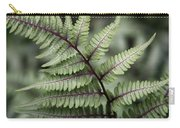 Painted Fern Carry-all Pouch