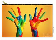 Painted Hands Carry-all Pouch