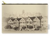 Painted Ladies At Alamo Square Carry-all Pouch
