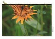 Painted Lady With Friends Carry-all Pouch