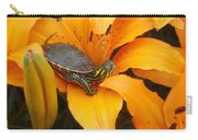 Painted Lilly Carry-all Pouch