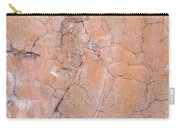Painted Pink Concrete Carry-all Pouch
