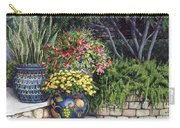 Painted Pots Carry-all Pouch