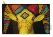 Painted Ram Carry-all Pouch