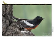 Painted Redstart Myioborus Pictus Carry-all Pouch