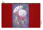 Painted Roses For Wonderland's Heartless Queen Carry-all Pouch