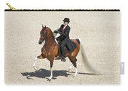 Painted Saddlebred Carry-all Pouch