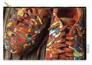 Painted Tennis Shoes Carry-all Pouch
