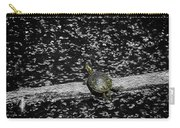 Painted Turtle In A Monochrome World Carry-all Pouch