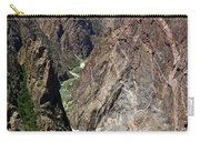 Painted Wall Black Canyon Of The Gunnison Carry-all Pouch
