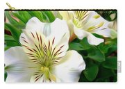 Painterly Alstroemeria Carry-all Pouch