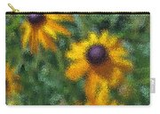Painterly Flowers Carry-all Pouch