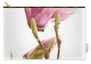 Painterly Pink Magnolia Carry-all Pouch