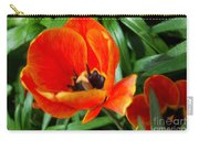 Painterly Red Tulips Carry-all Pouch