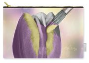 Painting A Tulip Carry-all Pouch